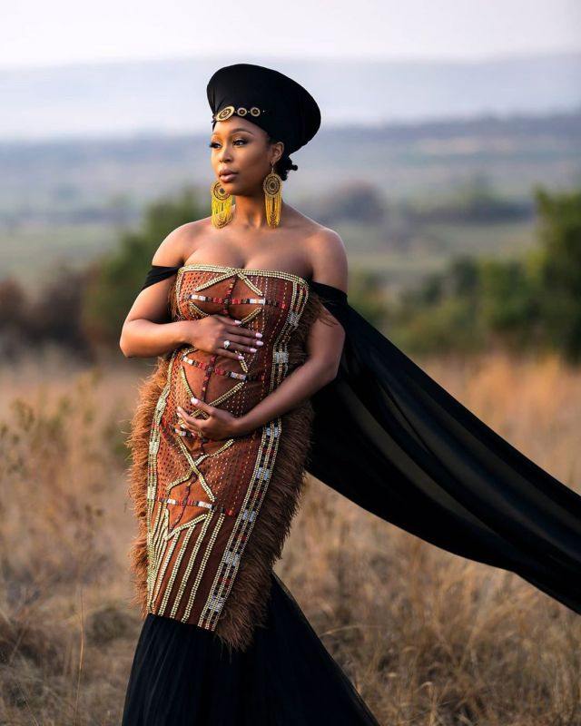 Minnie Dlamini's close Friends Reveal Difficulty of Keeping her Pregnancy a Secret
