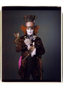 Mad Hatter Johnny Depp photo