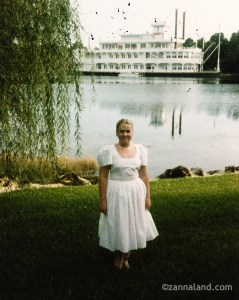 This was me, before heading to dinner at the Empress Lily Room. Pre Pleasure Island too!