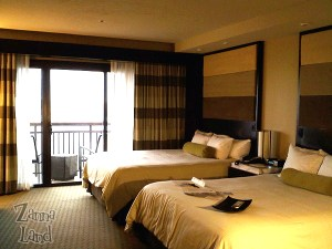 Beautiful room on the Contemporary Resort's 7th floor