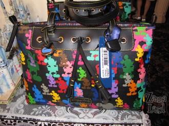 Large Tassel with rainbow zipper $210