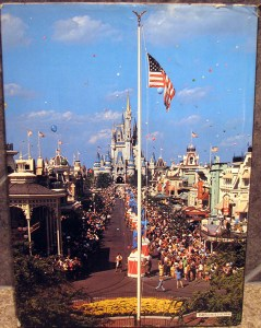 The Magic of Disneyland and Walt Disney World back cover