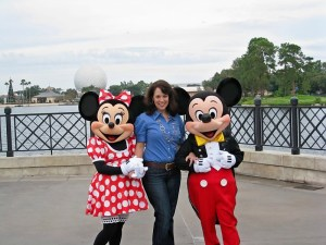 Andi Minnie and Mickey