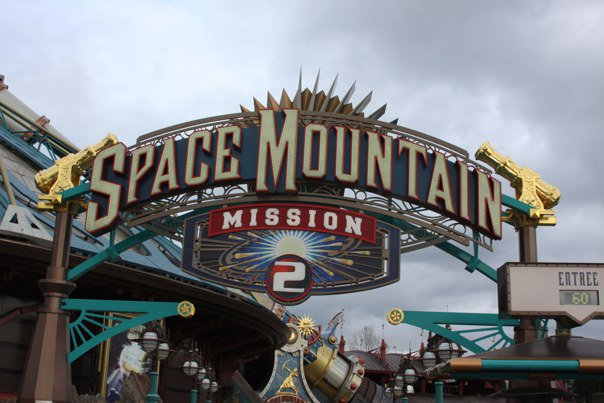 Disneyland Paris Space Mountain
