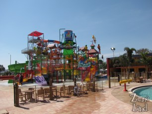 the big water slides - visible from I-4