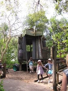 Tom Sawyer Island playground