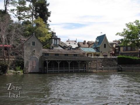 view from Tom Sawyer Island