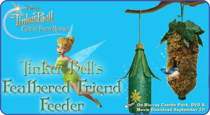 Tinker Bell Feathered Friend Feeder
