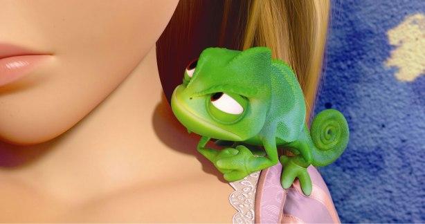 Rapunzel Pascal Tangled