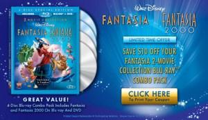 Fantasia DVD Coupon