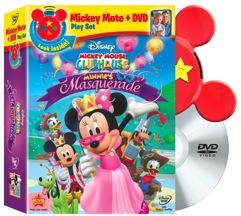 Minnies Masquerade Plus Mickey Mote