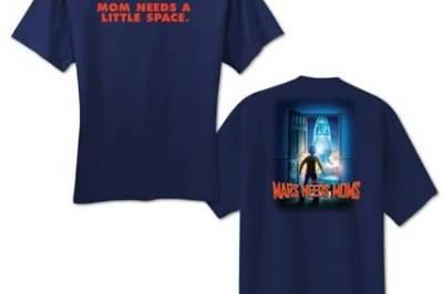 Mars Needs Moms t-shirt