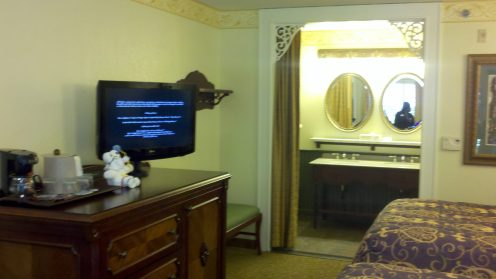 Disney's Port Orleans French Quarter Refurbished Room
