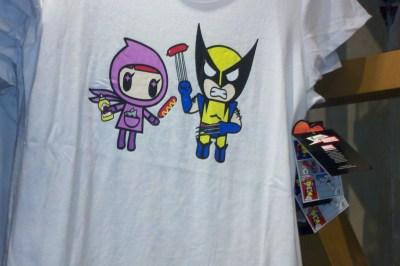 Tokidoki Marvel Wolverine