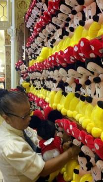 Minnie Mouse plush