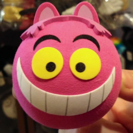 Cheshire Cat antenna topper
