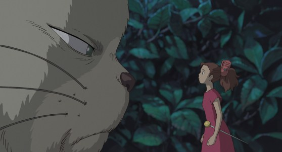 Arrietty and kitty