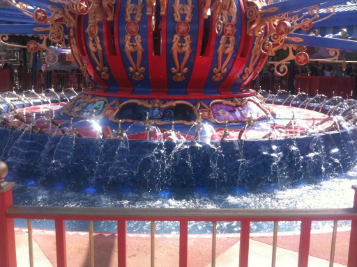 Dumbo with water!