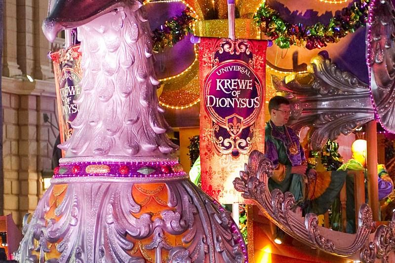 Mardi Gras Parade at Universal Orlando