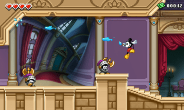 Epic Mickey 3DS screenshot