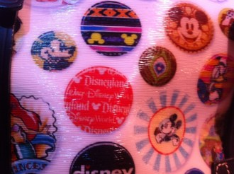 Disney Dooney and Bourke Buttons Design