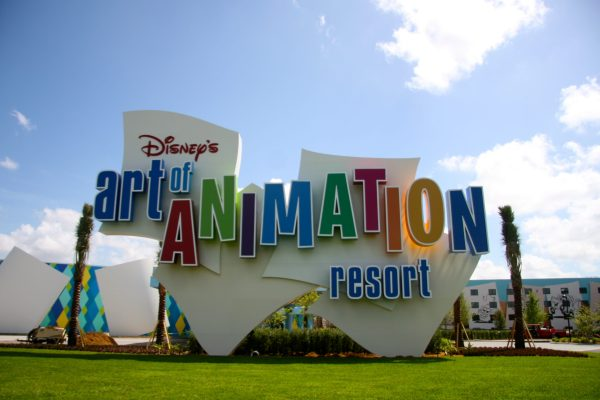 Disney World Resort Art Animation