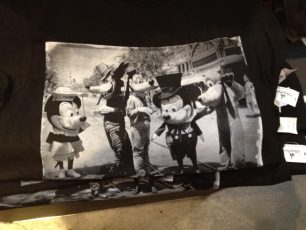 Old school Disney characters t-shirt