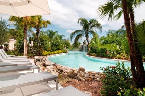 Hilton Orlando lazy river