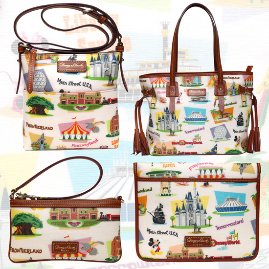 Disney Dooney & Bourke Retro WDW Collection