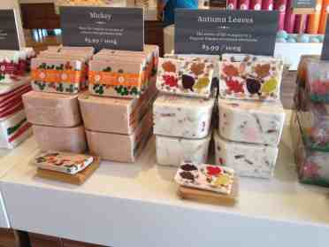 Basin Autumn soaps