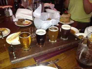 Raglan Road Beer Flight