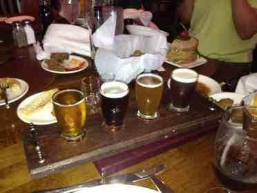 Raglan Road Beer Flight