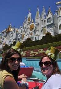 Nicole and Suzannah and tiny hats