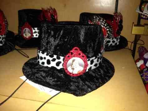 Cruelle DeVil tiny hat
