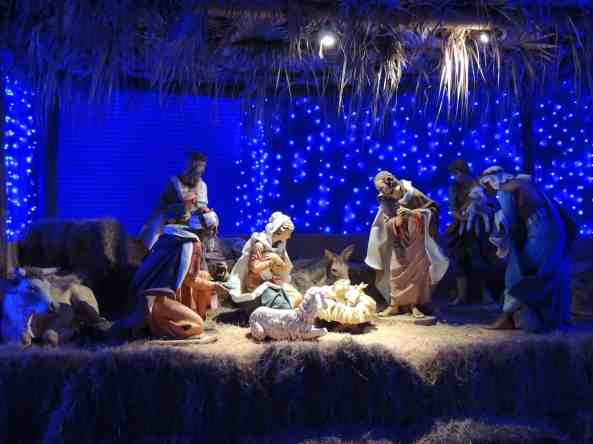 The nativity is beautiful...