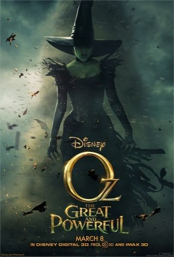 Oz The Great And Powerful New Wicked Witch Poster And Trailer