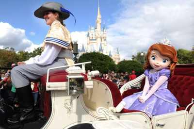 Sofia the First parade