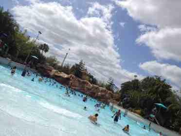 Aquatica wave pool