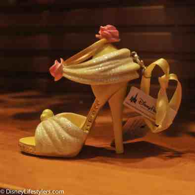 Disney Belle character-inspired shoe ornament