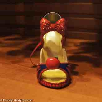 Disney Snow White character-inspired shoe ornament