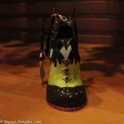 Disney Maleficent character-inspired shoe ornament