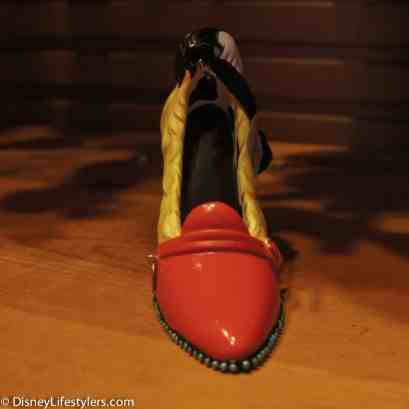 Disney Cruella De Vil character-inspired shoe ornament
