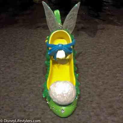 Disney Tinker Bell character-inspired shoe ornament