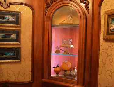 Going into Cinderella Castle Suite