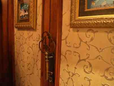 Door to enter suite