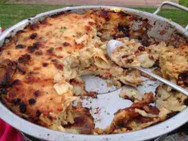 Craisin Bacon and Brie Potato Gratin
