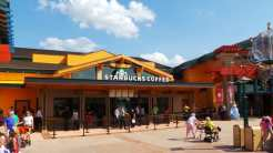 Downtown Disney Marketplace Starbucks