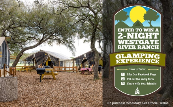 Westgate River Ranch Offers All-Inclusive Glamping Experience