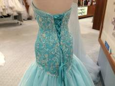 The back of the Ariel dress