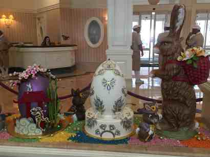Grand Floridian Easter Eggs 2016